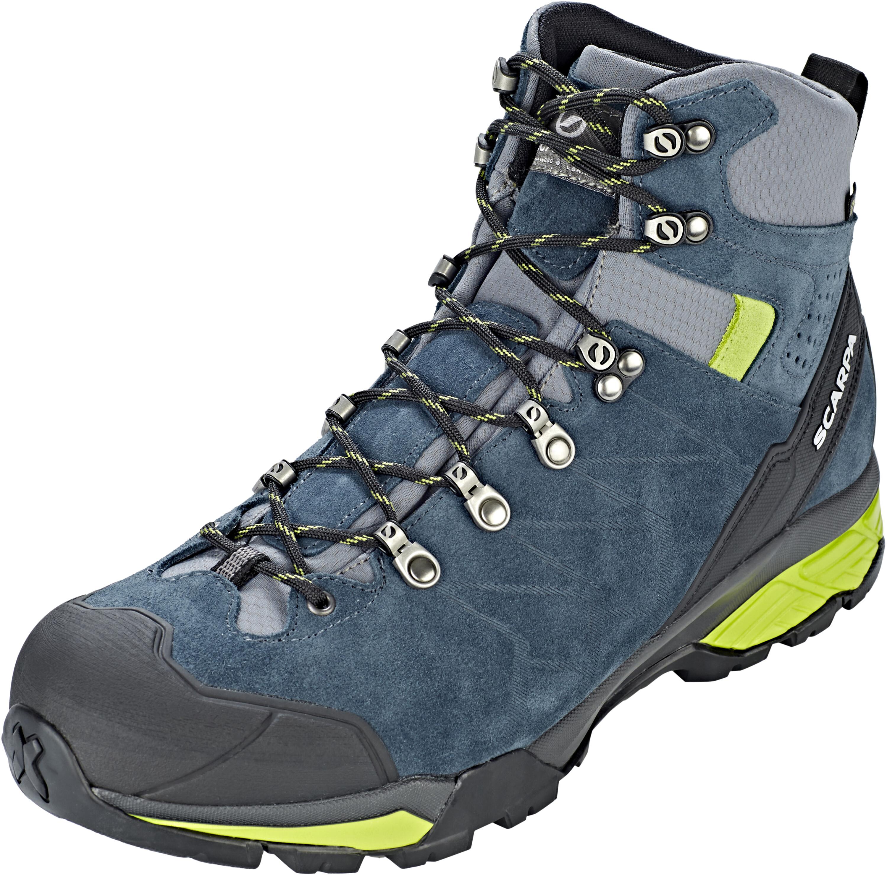 7eb40d60a Scarpa ZG Trek GTX Shoes Men ottanio/spring at Addnature.co.uk
